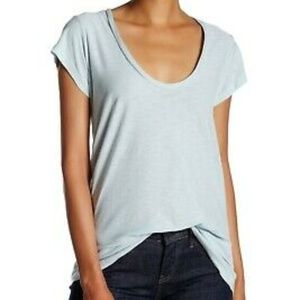 James Perse V-neck Standard Tee NWT